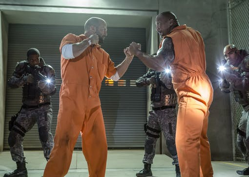 Fast and Furious-spinoff med Statham, Johnson och Theron?