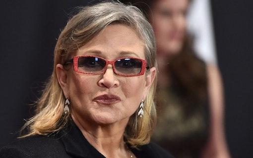 Ikoniska skådespelerskan Carrie Fisher död