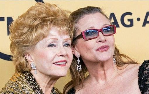 Carrie Fishers mamma - Debbie Reynolds - död