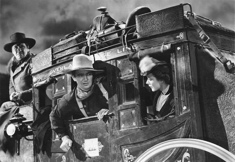 John Wayne i Diligensen (1939)
