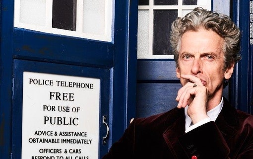 Doctor Who-Peter Capaldi i nya David Copperfield
