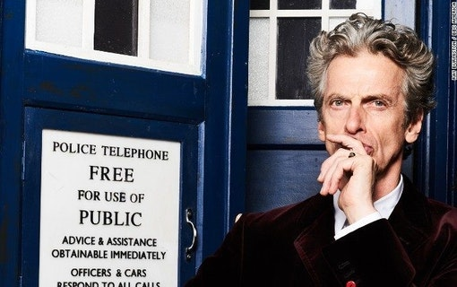 Doctor Who-Peter Capaldi i nya David Copperfield
