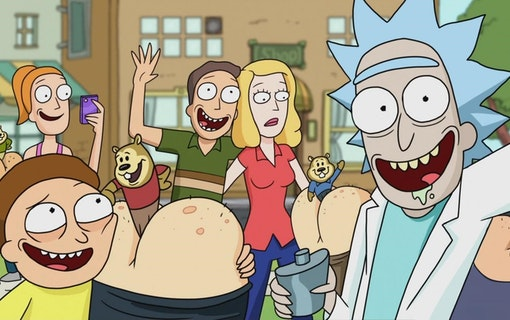 Rick and Morty kommer tillbaka i juli