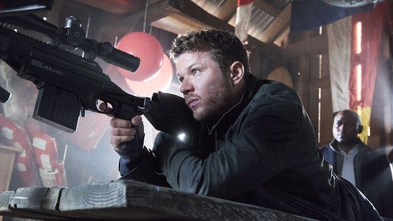 Ryan Phillippe as Bob Lee Swagger in Shooter. Photo: USA Network