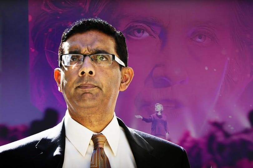 Dinesh D'Souza Hillary's America The Secret History of the Democratic Party