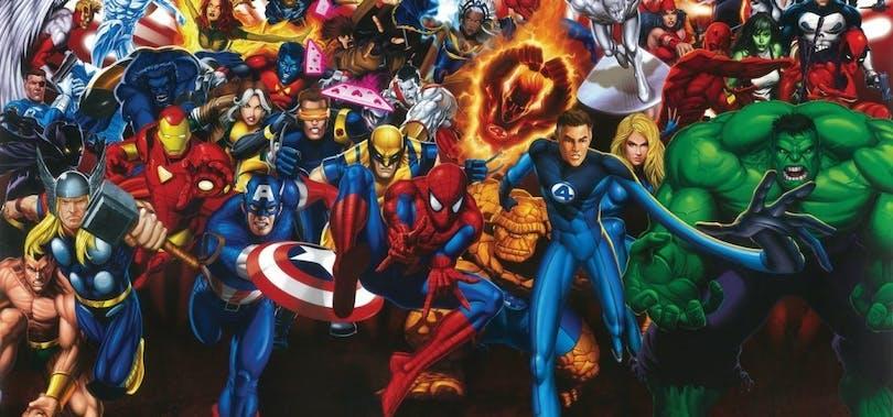 Invasion av superhjältar och uppföljare i filmbranschen