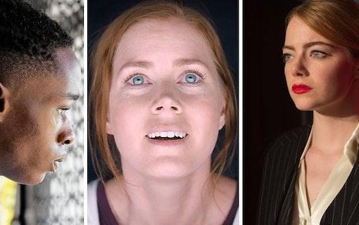 Se Oscarsnomineringarna 2017 på ca 2 minuter