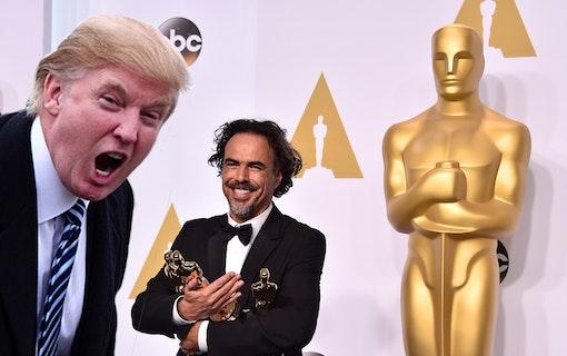 Donald Trump tar på sig Oscarsskandalen