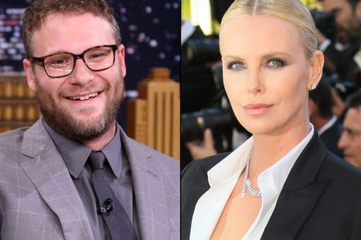 Seth Rogen och Charlize Theron i ny komedi