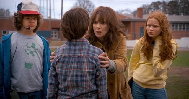 Stillbild från Stranger Things säsong 2.