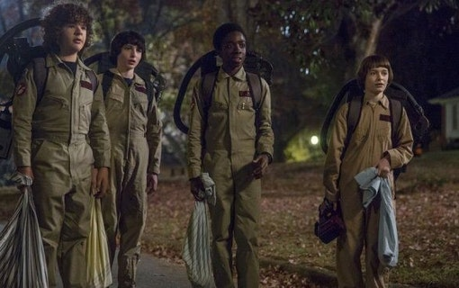 Nya Stranger Things-bilder