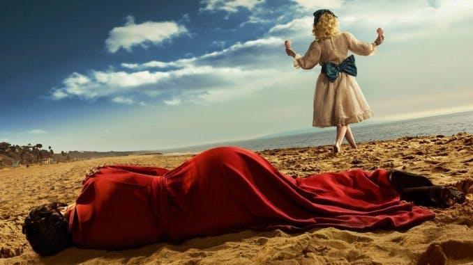 """Stillbild från """"Feud: Bette and Joan"""". Foto HBO."""