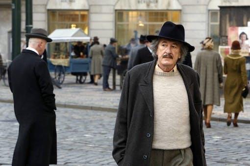 Geoffrey Rush som Albert Einstein i ny TV-serie