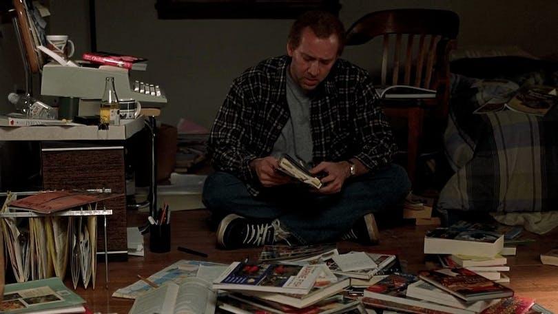 Nicolas Cage som Charlie Kaufman i Adaptation. (2002)