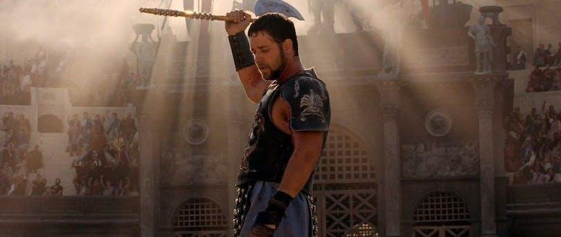 Russel Crowe i Gladiator