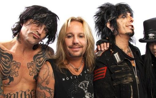 Netflix planerar Mötley Crüe-film