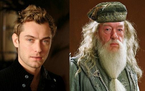 Jude Law bekräftad som den unga Dumbledore