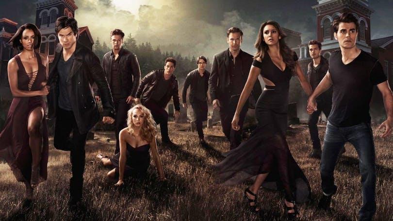 Vampyrerna i Vampire Diaries.
