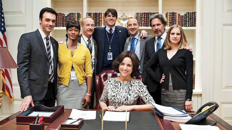 The main cast of Veep.