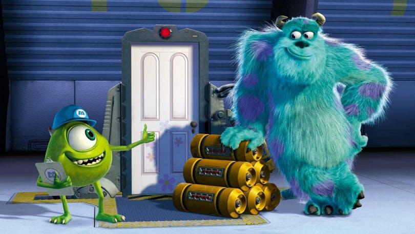 Mike och Sully i Monsters Inc.