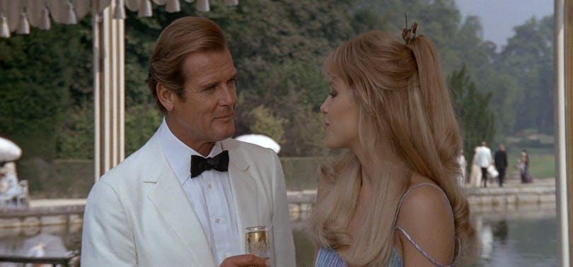 Roger Moores Bond-filmer rankade