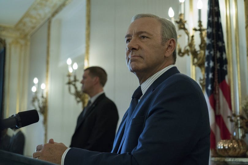 Kevin Spacey i House of Cards säsong 5