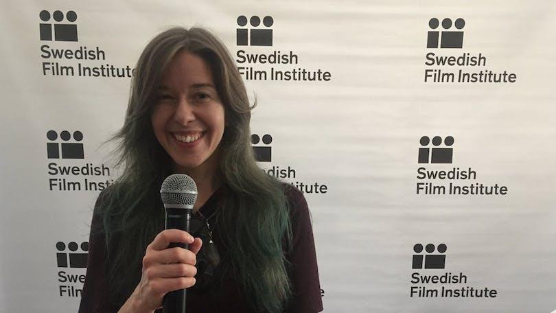 Erika Wasserman pratar om NEON på Cannes Film Festival.