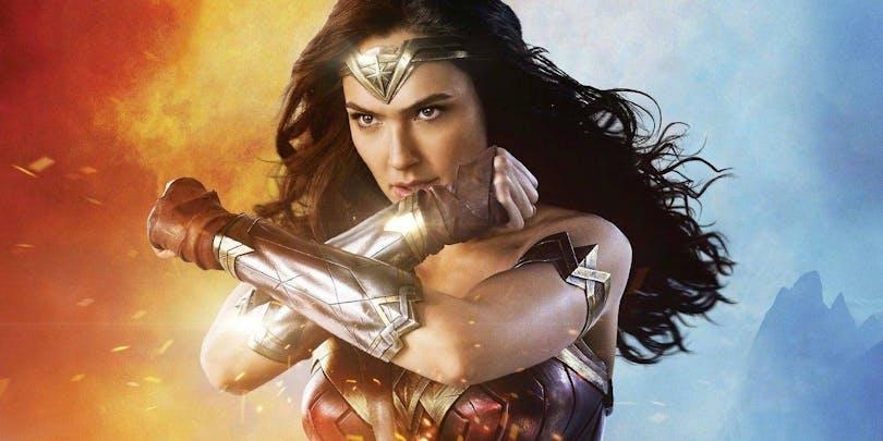 Gal Galdot som Wonder Woman.