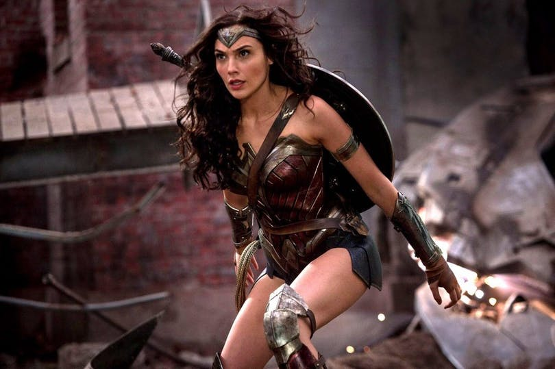Wonder Woman agerar i strid