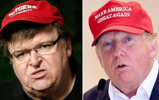 """Michael Moore: """"Trumps presidentskap slutar med denna film"""""""