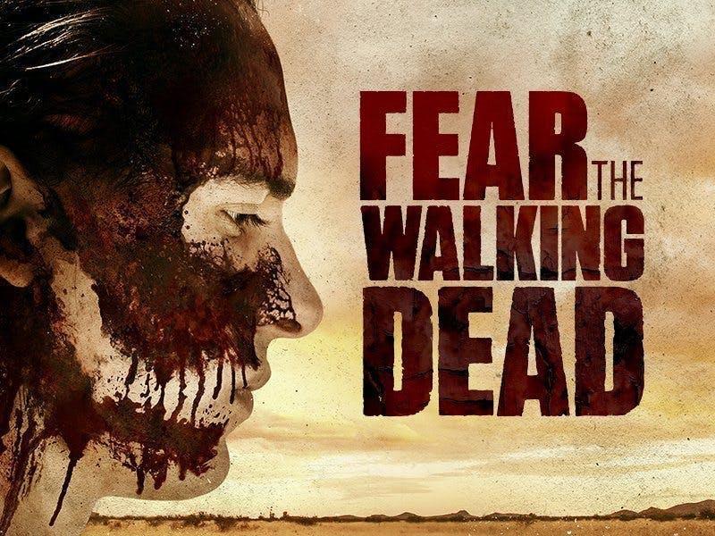 """Poster till """"Fear the Walking Dead"""""""