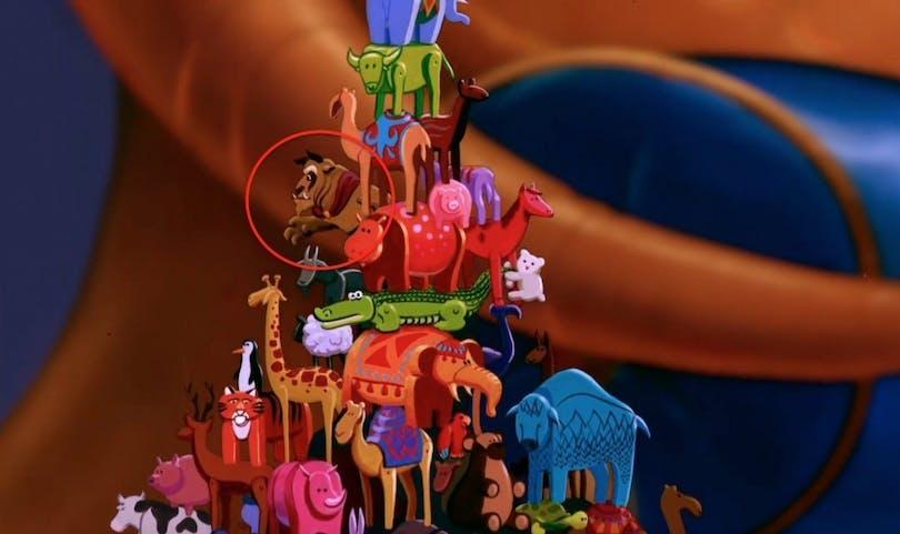 Aladdin bästa Disney filmer - Sultanen leker med Disneys Odjuret