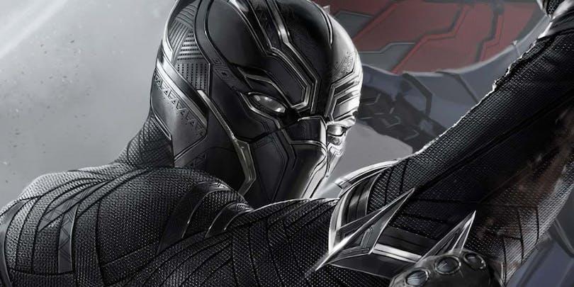 Bild på Black Panther från Marvel Studios