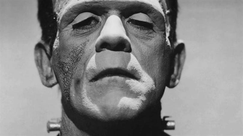 "Boris Karloff i ""Frankenstein"""