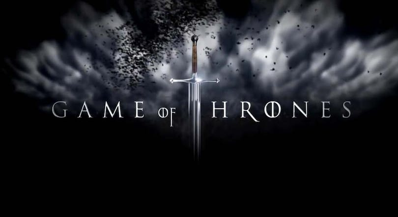 "Poster till ""Game of Thrones"""