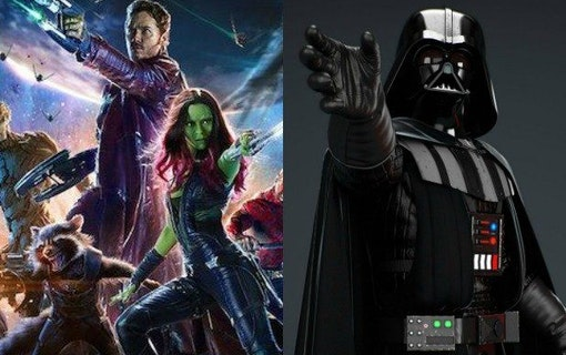 Darth Vader var nästan med i Guardians of the Galaxy