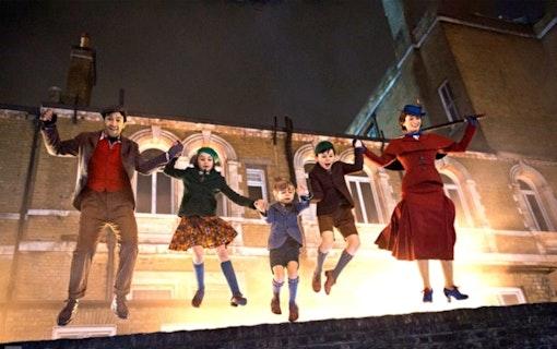 """Första bilderna släppta till """"Mary Poppins Returns"""""""