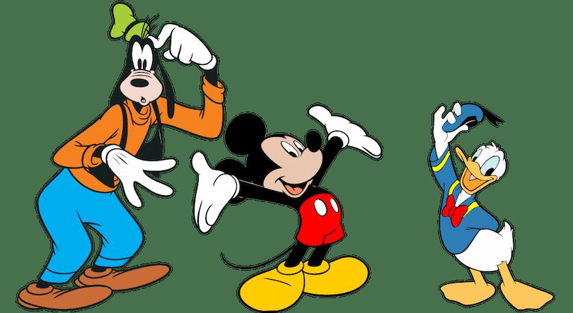 Klassiska Disneyfigurer