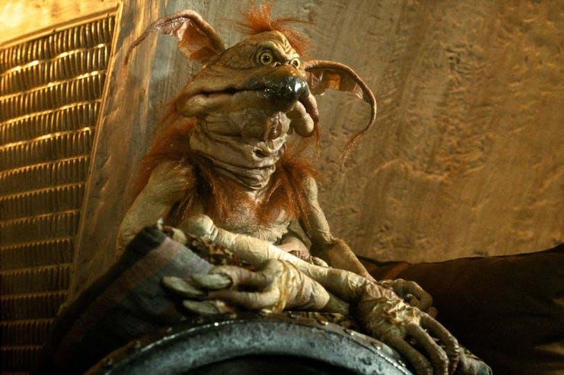 """Salacious B. Crumb i """"Jedins återkomst"""""""