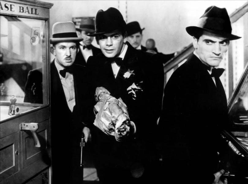 "Stillbild ur ""Scarface – Chicagos siste gangster"""