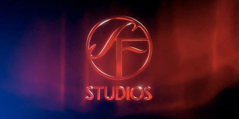 Filmbolaget SF Studios logotyp.