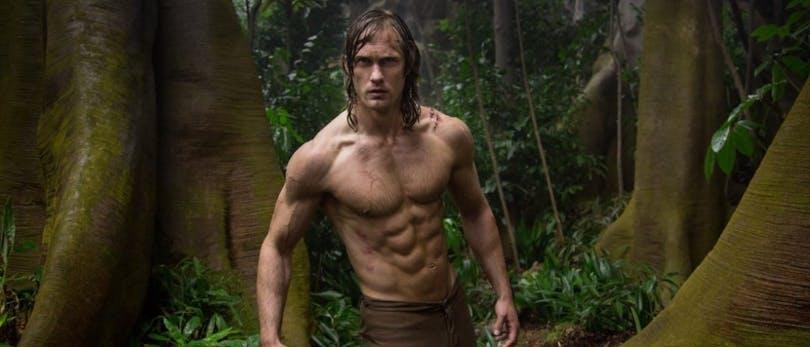 Alexander Skarsgård i Legenden om Tarzan.