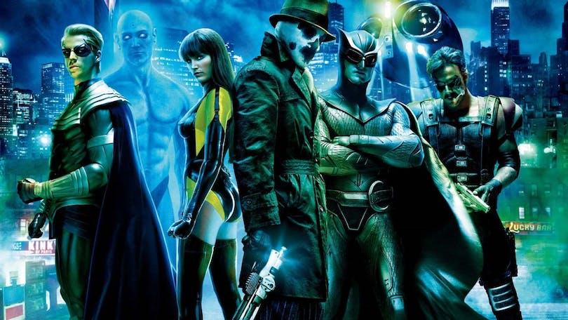 """Watchmen"" poserar"
