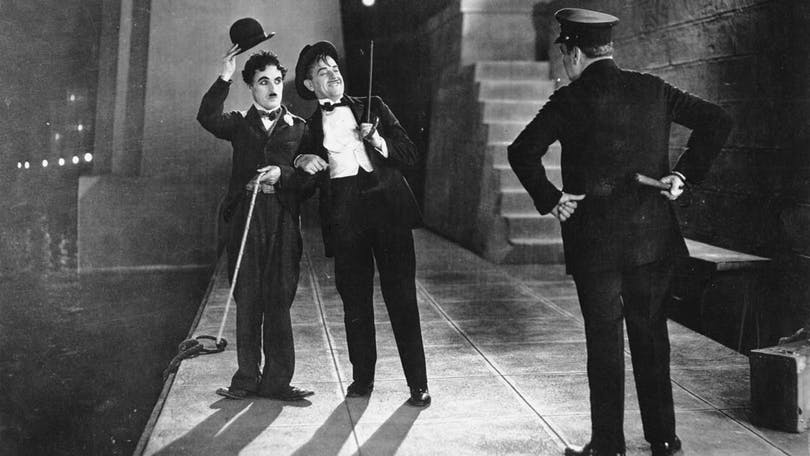 "Charlie Chaplin i ""Stadens ljus"""
