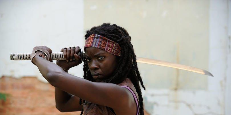 Danai Gurira från Walking Dead