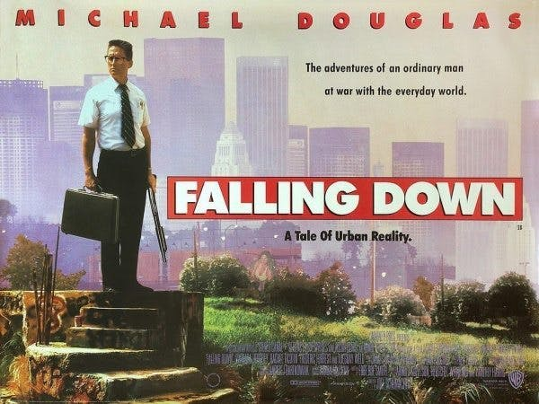 Michael Douglas i Falling Down