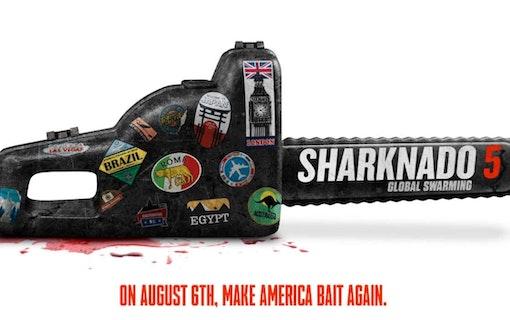 Sharknado 5 har fått ett klämkäckt namn