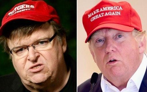 Michael Moore lanserar TrumpiLeaks - ska avsluta Donald Trump