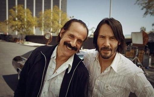 Se Peter Stormare och Johan Glans mot Keanu Reeves