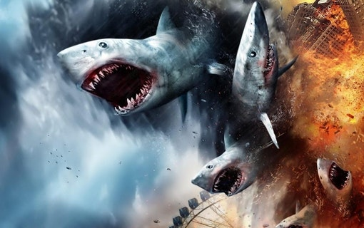 Teaser till Sharknado 5: Global Swarming